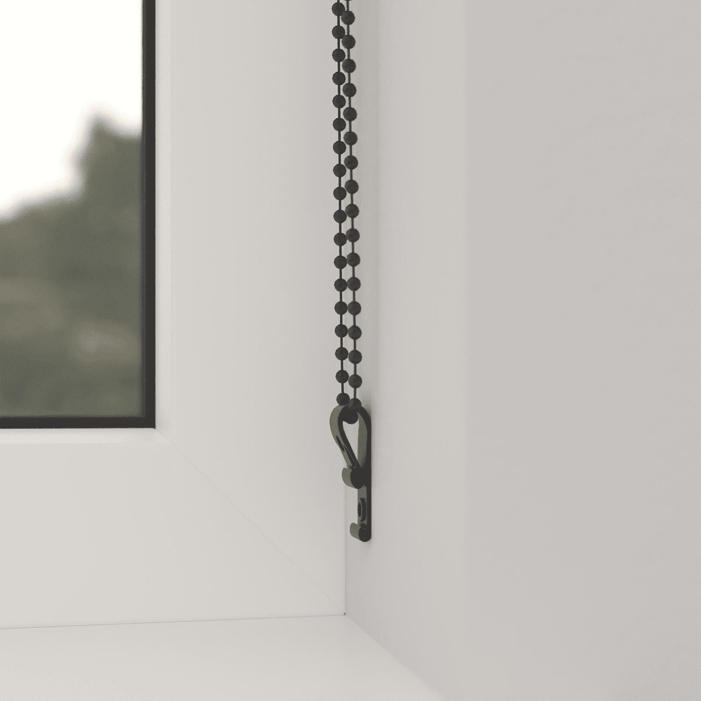 4Goodz Rolgordijn Lichtdoorlatend Aluminium buis 120x180 cm - Antraciet