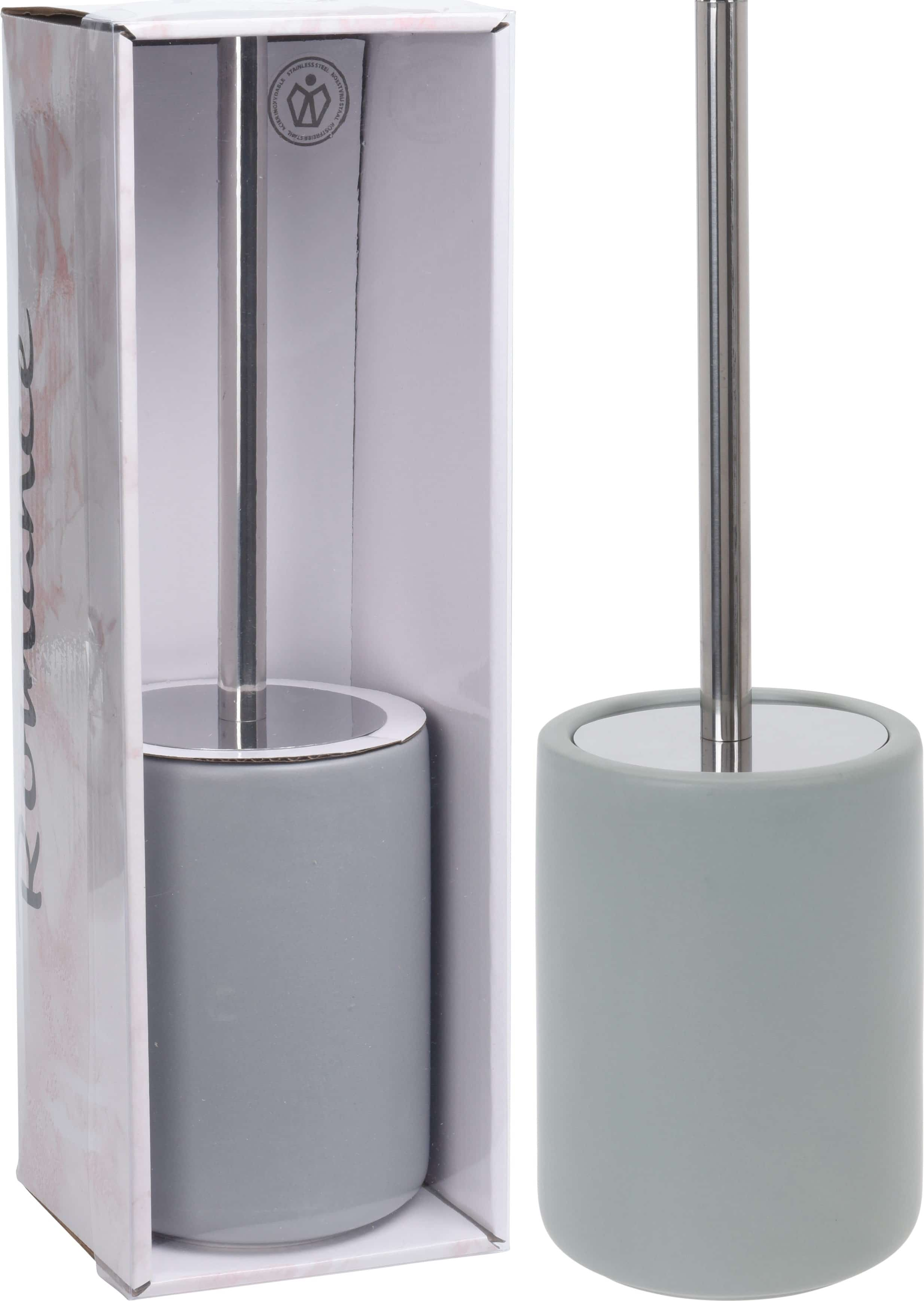 4goodz Toiletborstel in houder - kleur Mintgroen