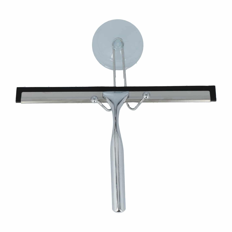 4goodz Douchewisser RVS met Zuignap ophanging - Chroom