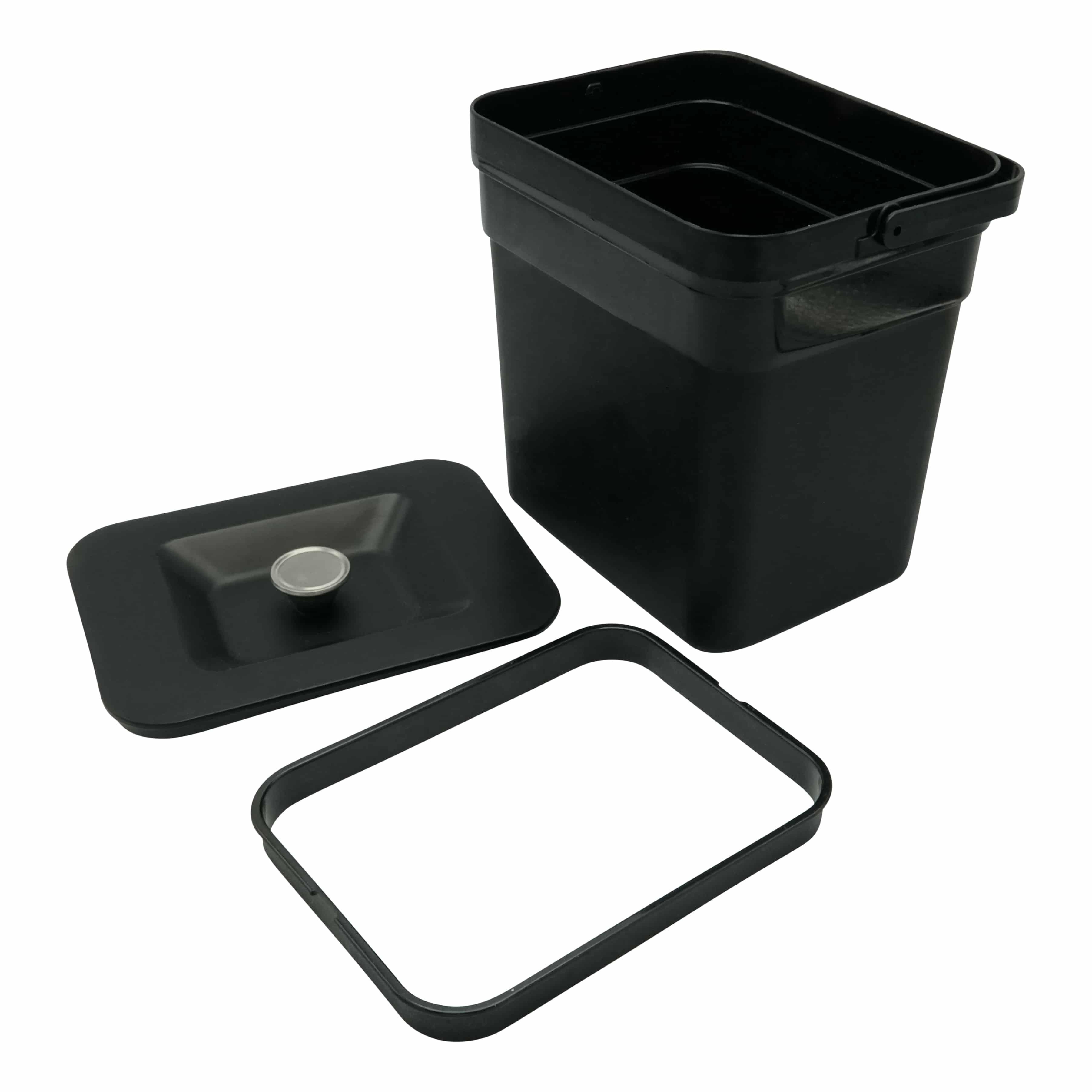 4cookz® 4 liter GFT afvalbakje aanrecht - passend in 4cookz® Smart Waste