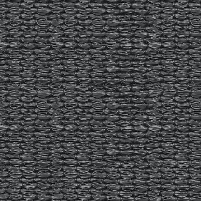 hanSe® Schaduwdoek Driehoek Waterdoorlatend 5x7x7 m - zonnedoek Grijs