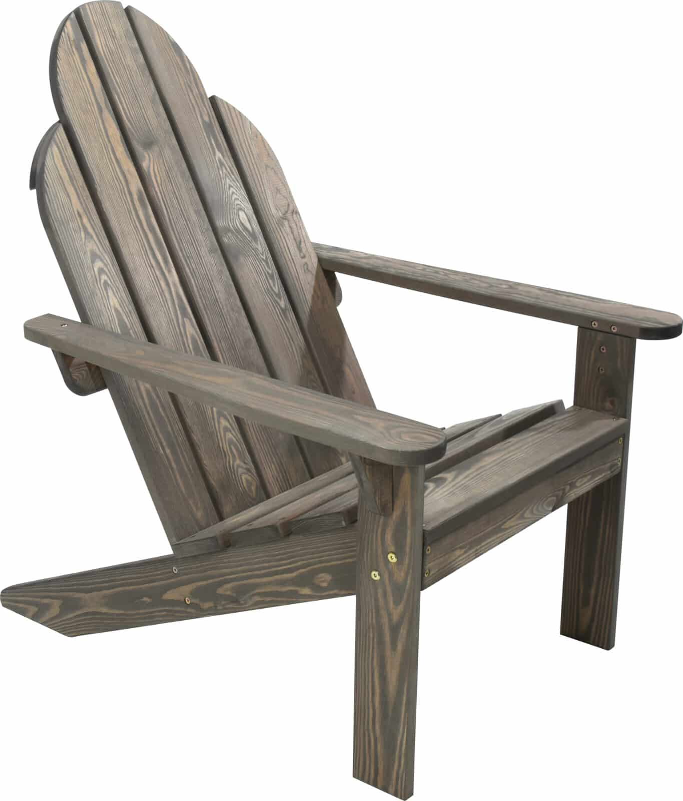 4goodz comfortabele Deckchair Tuinstoel - Bruin