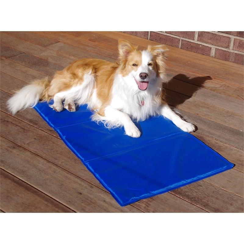 4animalz Koelmat voor honden en katten - 60X80 CM - Blauw