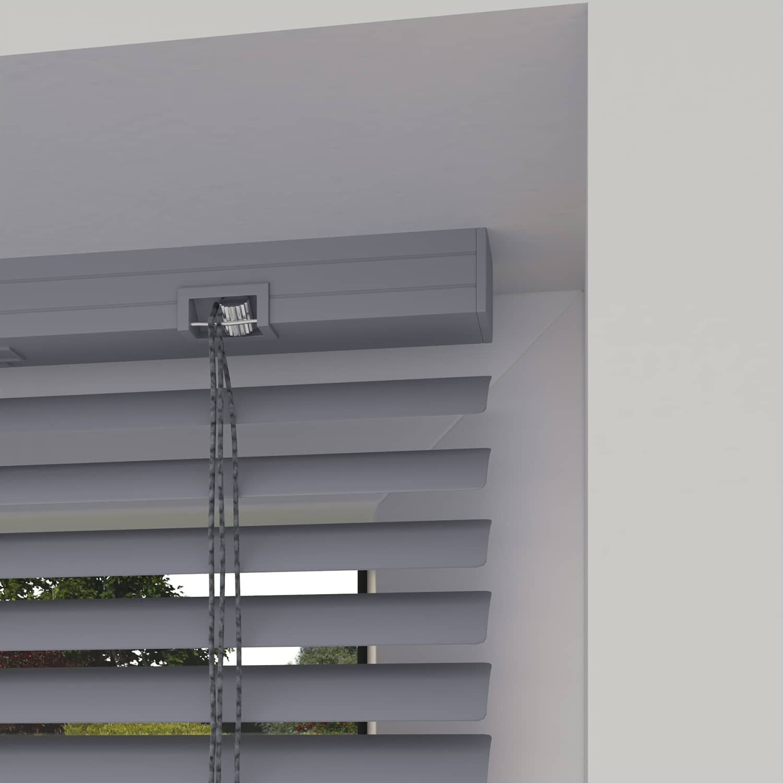 4Goodz Vochtbestendige PVC Jaloezie EASY 25 mm 120x180 cm - Grijs
