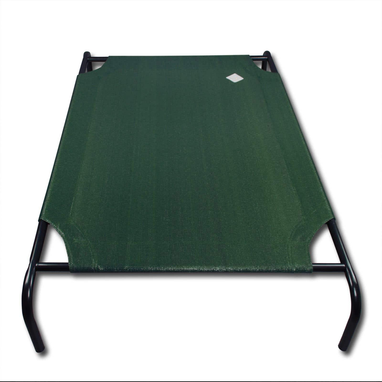 4animalz Honden Ligbed - Ventilerend - Groen - Medium - 90x65cm