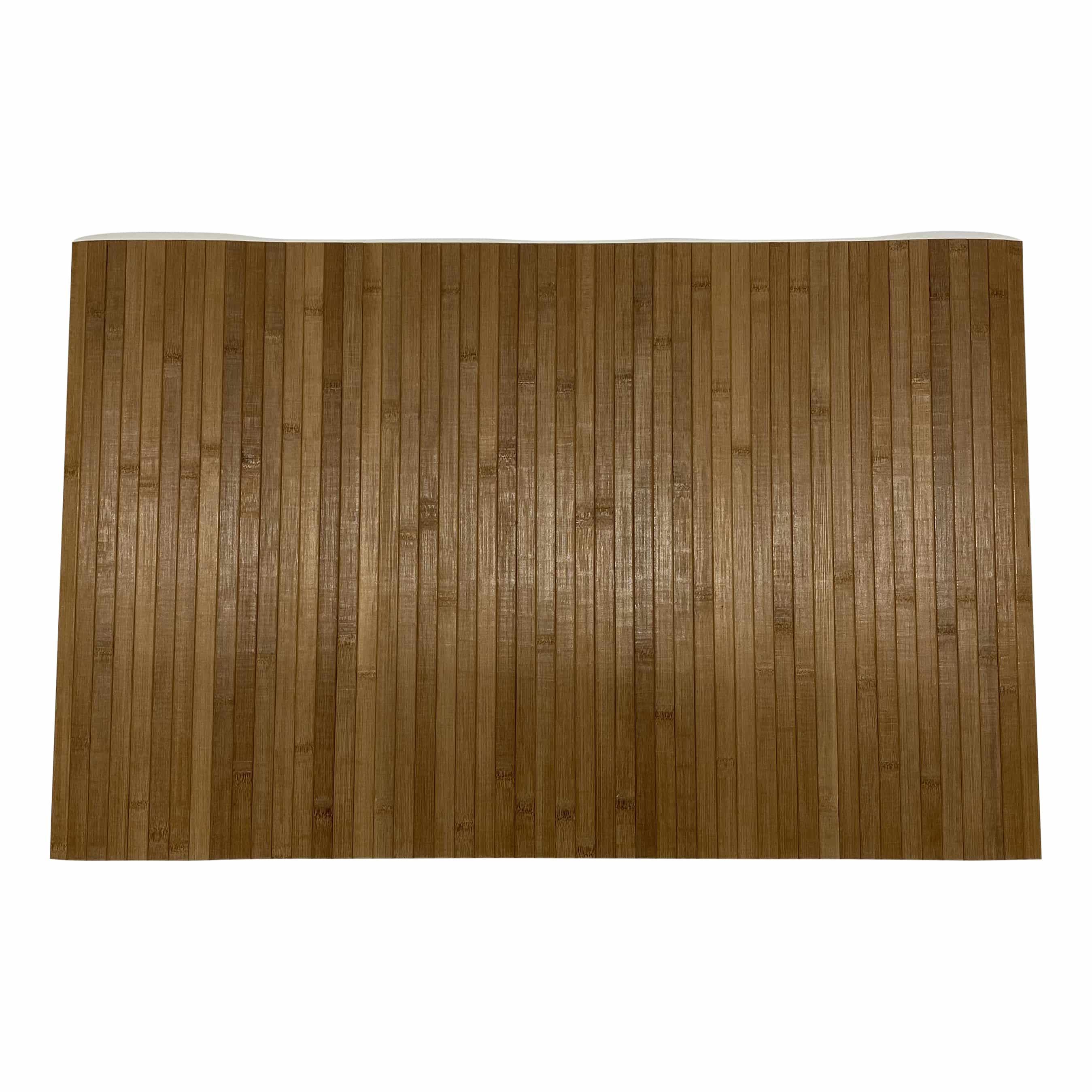 4goodz bamboe anti-slip douchemat-badmat 50x80 cm - Lichtbruin