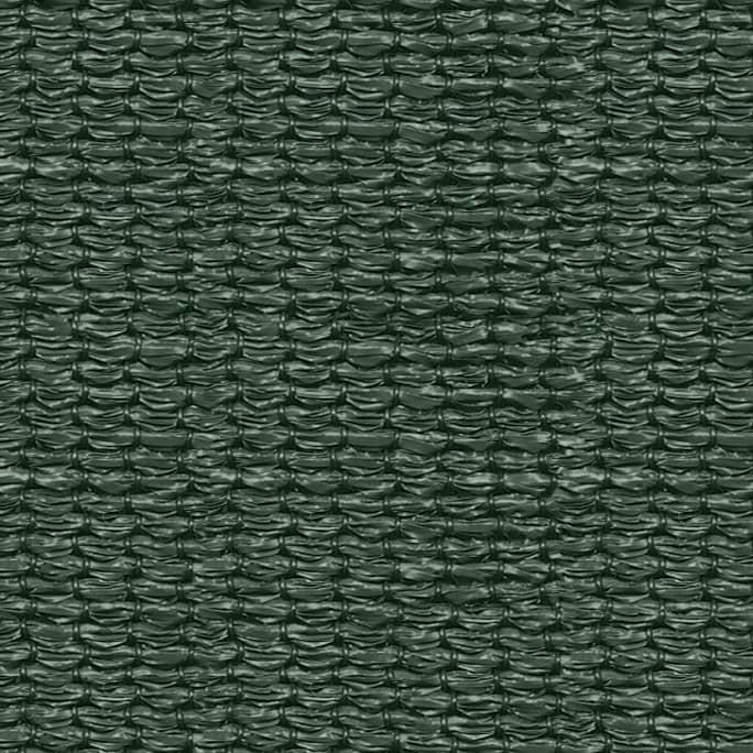 hanSe® Schaduwdoek Driehoek Waterdoorlatend 5x5x5 m - zonnedoek Groen