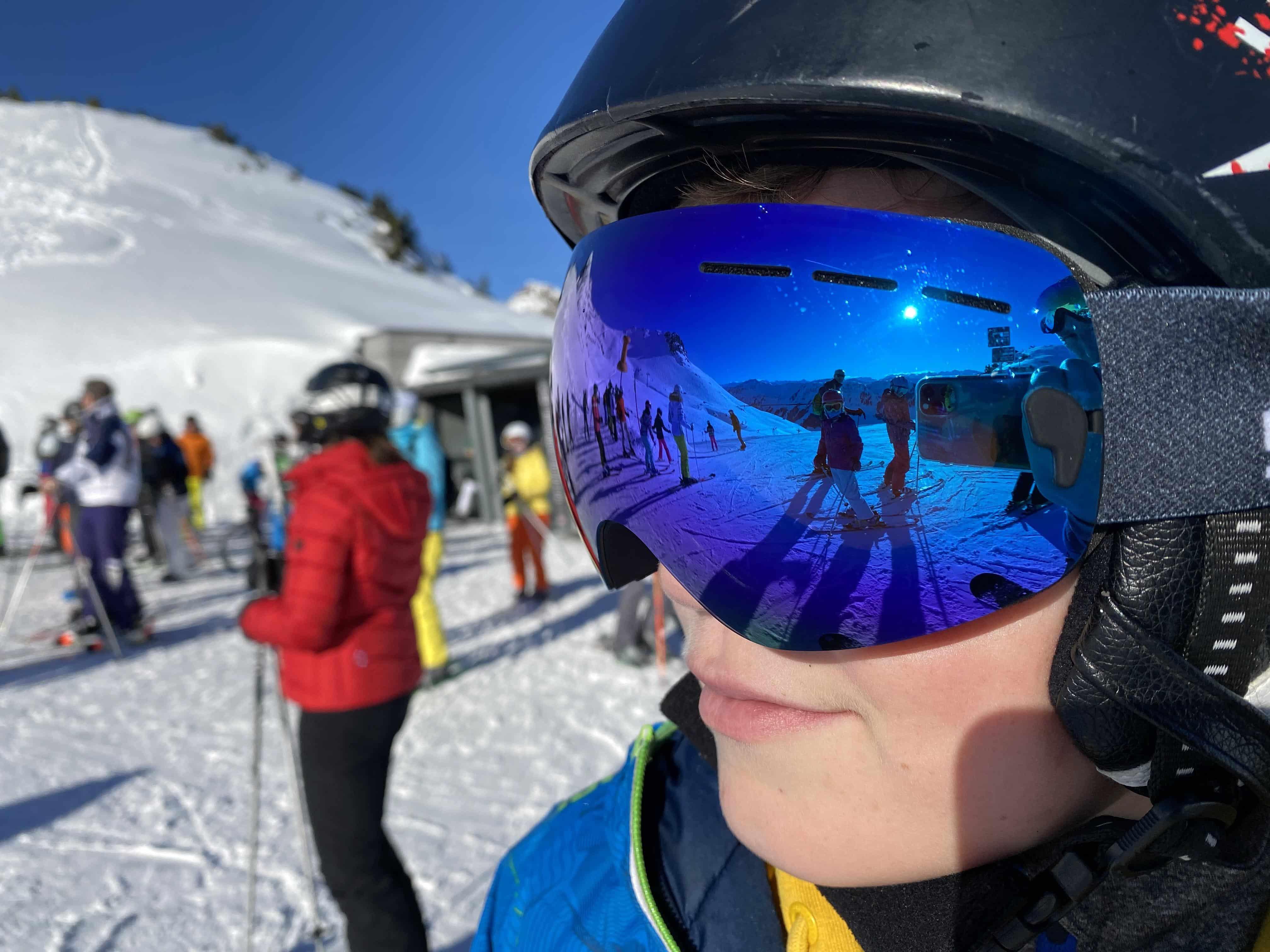 5one® Alpine 2 Blue revo Junior skibril - antic-ondens - UV 400