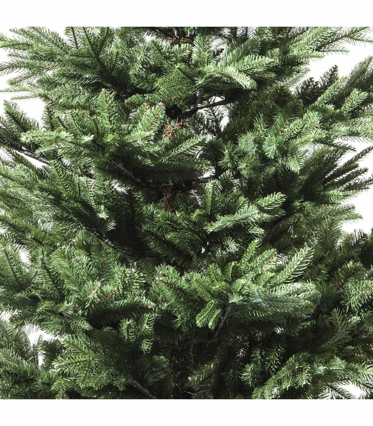4goodz Superior grillige kunstkerstboom Helsinki Nordmann Spar 150 cm