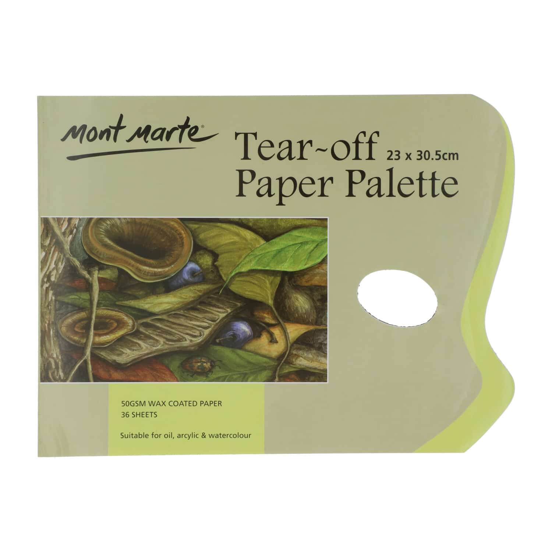 Mont Marte® afscheurpalet papier 36 vellen - 50 grams papier