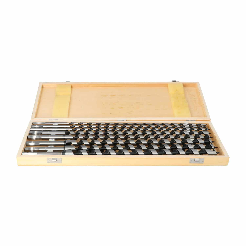 Hanse Werkzeuge Slangenboor set 8 delig voor hout- extra lang 460 mm