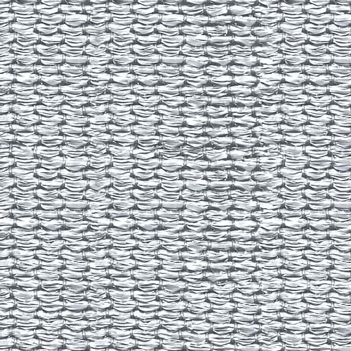 hanSe® Schaduwdoek Driehoek Waterdoorlatend 5x5x5 m - zonnedoek - Wit