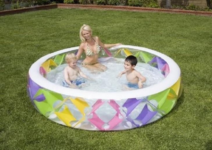 Intex Opblaasbaar familie Zwembad Intex Pinwheel 229x56 cm