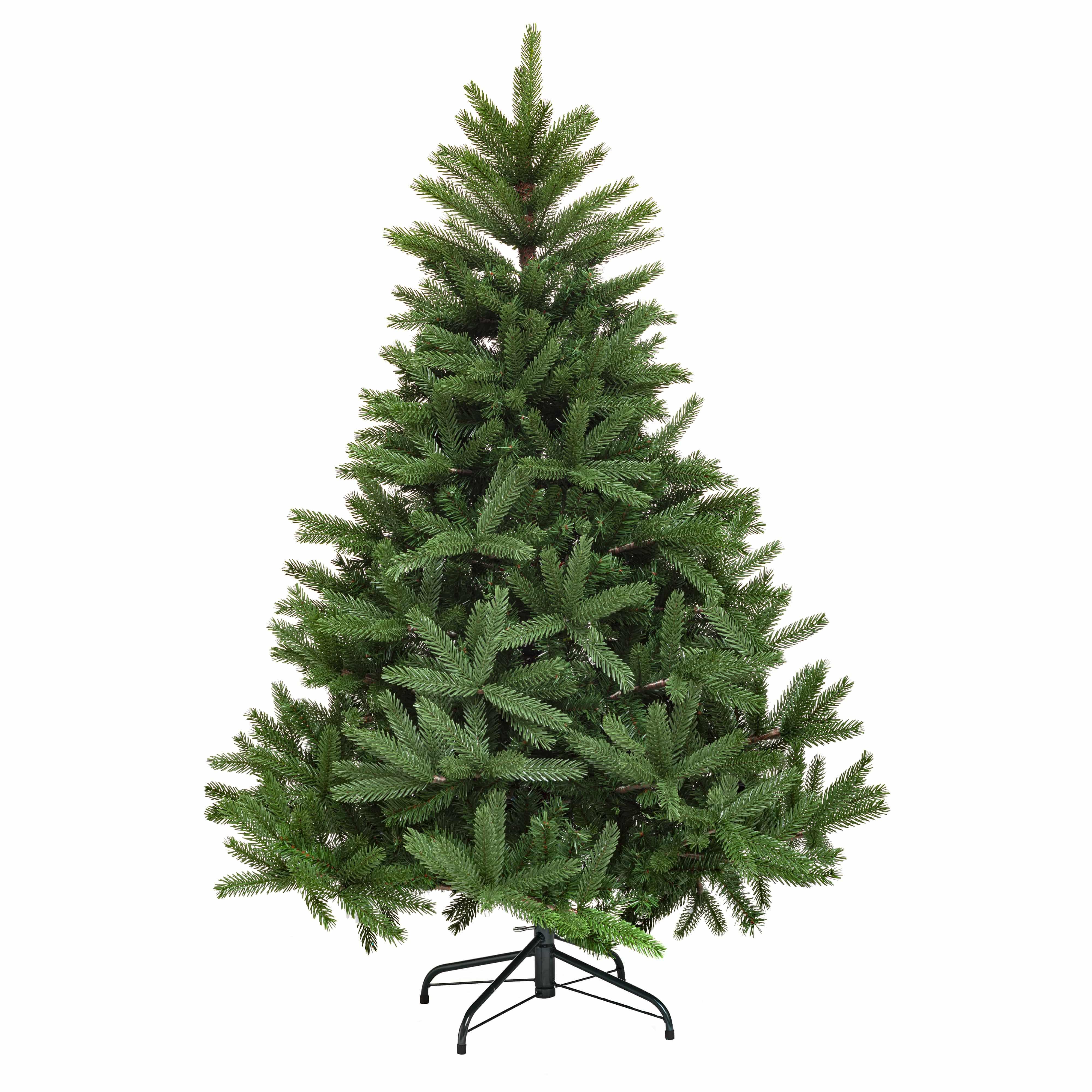4goodz natuurgetrouwe Premium Kunstkerstboom Groene Spar 150 cm
