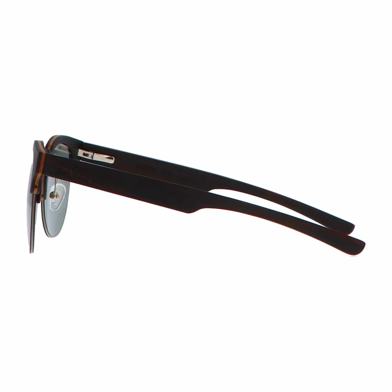 5one® Clubmaster Sports G15 - Ebony houten zonnebril - sportief model