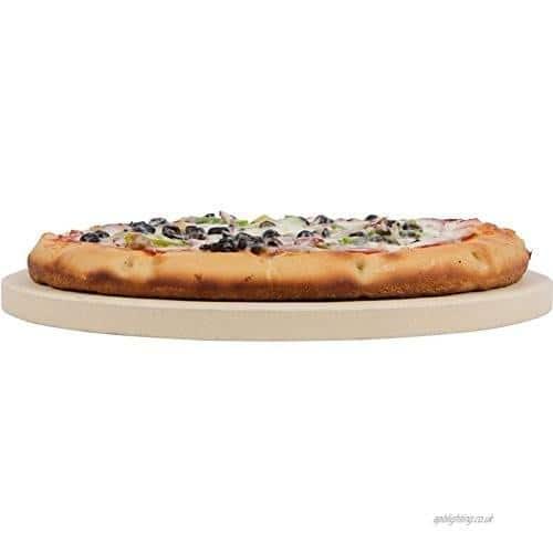 """4cookz® - Universele pizzasteen 13""""/ 14"""" Kamado BBQ"""