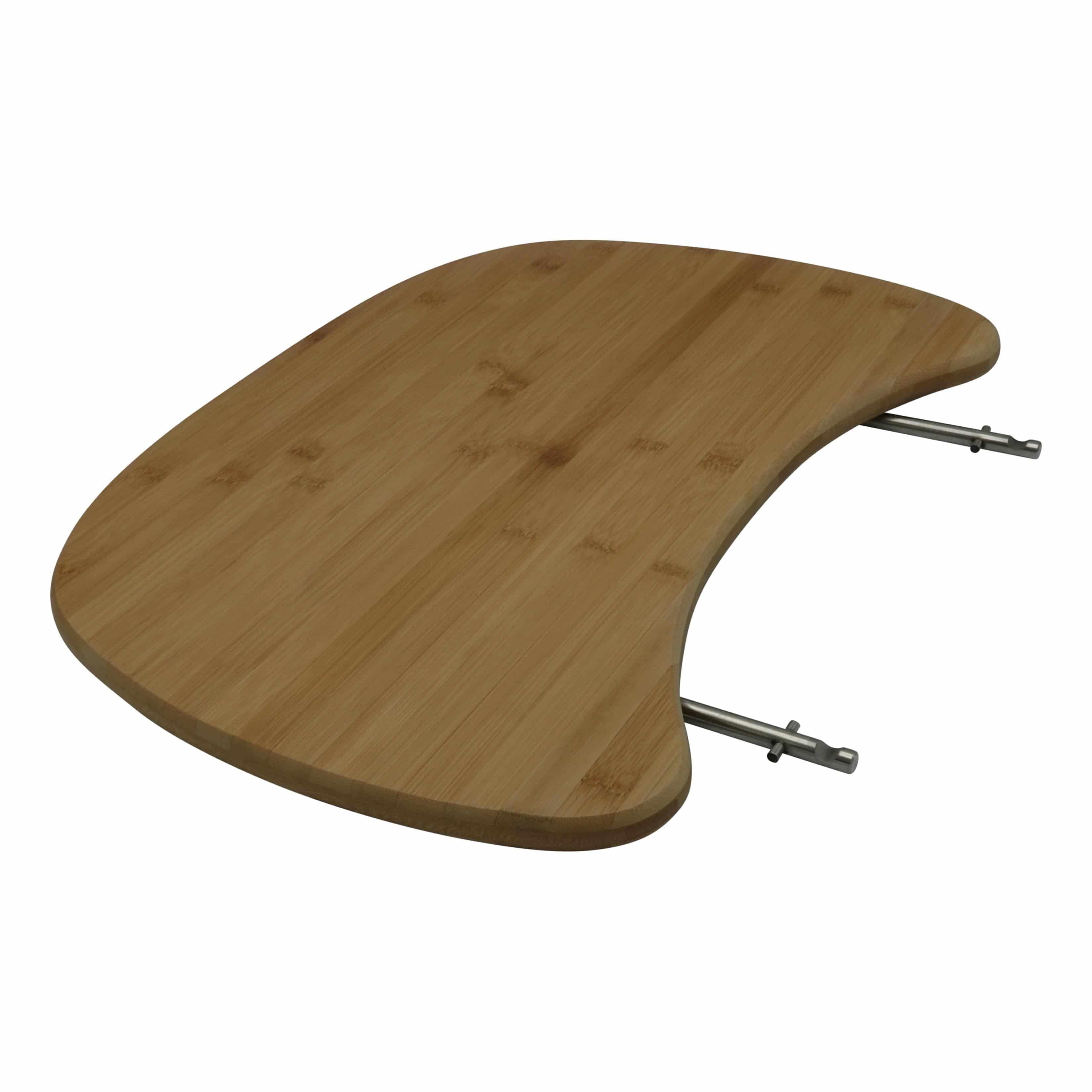 """4cookz® set van 2 bamboo zijtafels voor 21&amp"""" kamado - Patton 4cookz® Auplex"""