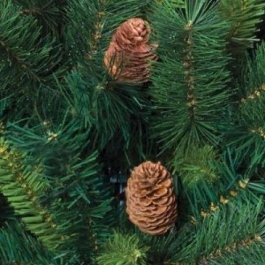 4goodz kunstkerstboom Royal Majestic Spar 150 cm met Dennenappels