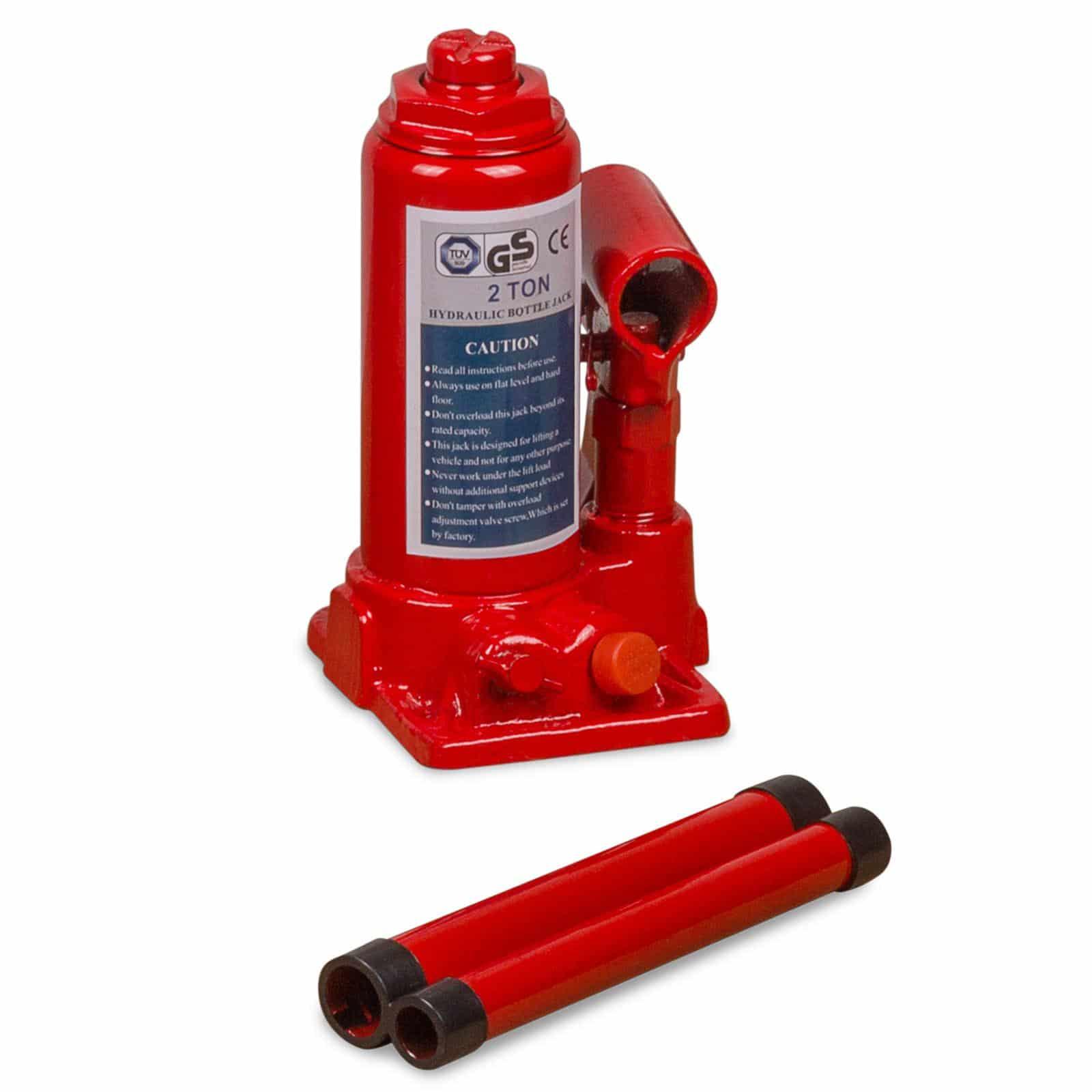 Hanse Werkzeuge hydraulische autokrik 2000kg - GS en Tuv certificaat