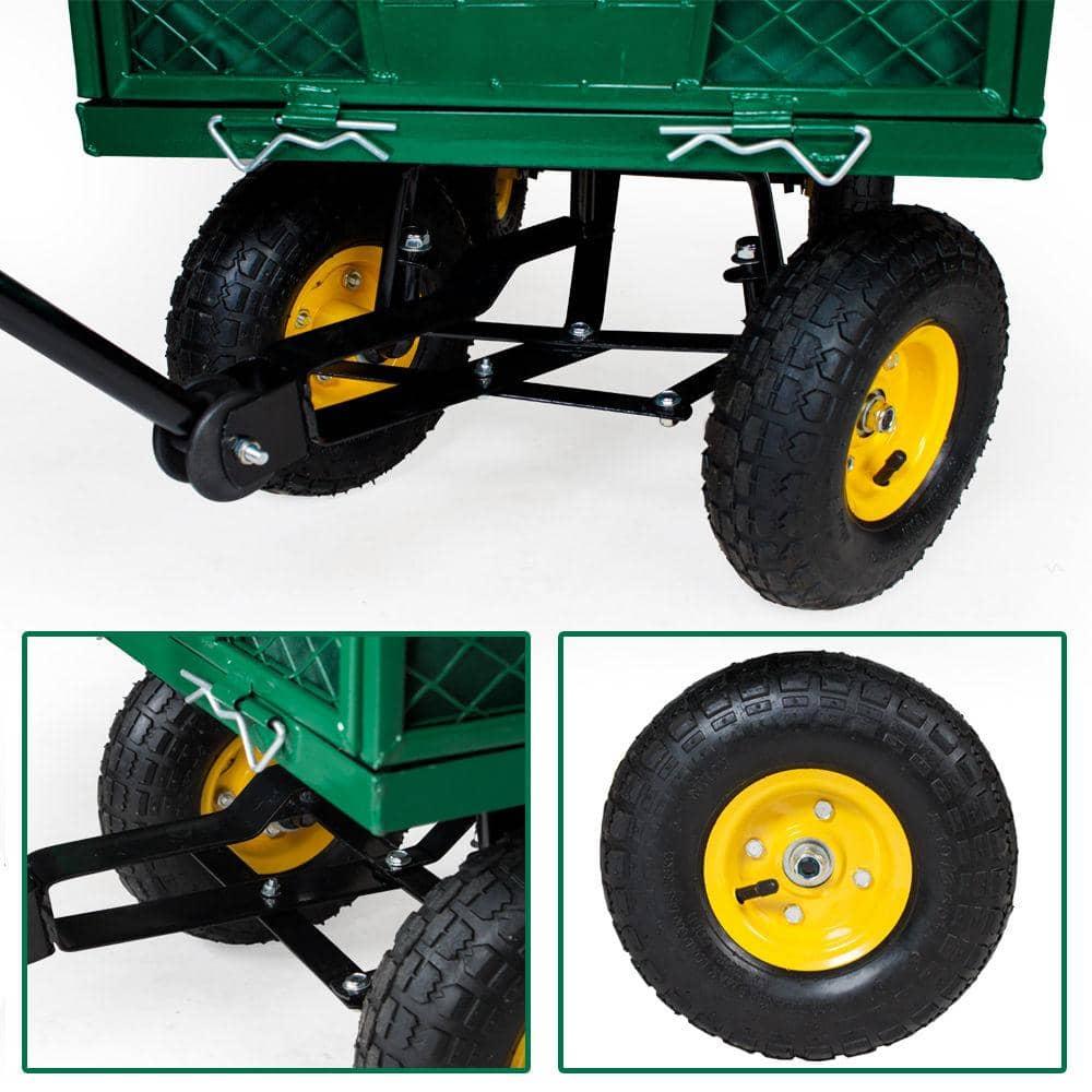 Hanse Werkzeuge Transportkar/Tuinkar - max 300kg - 96,5x51x25cm