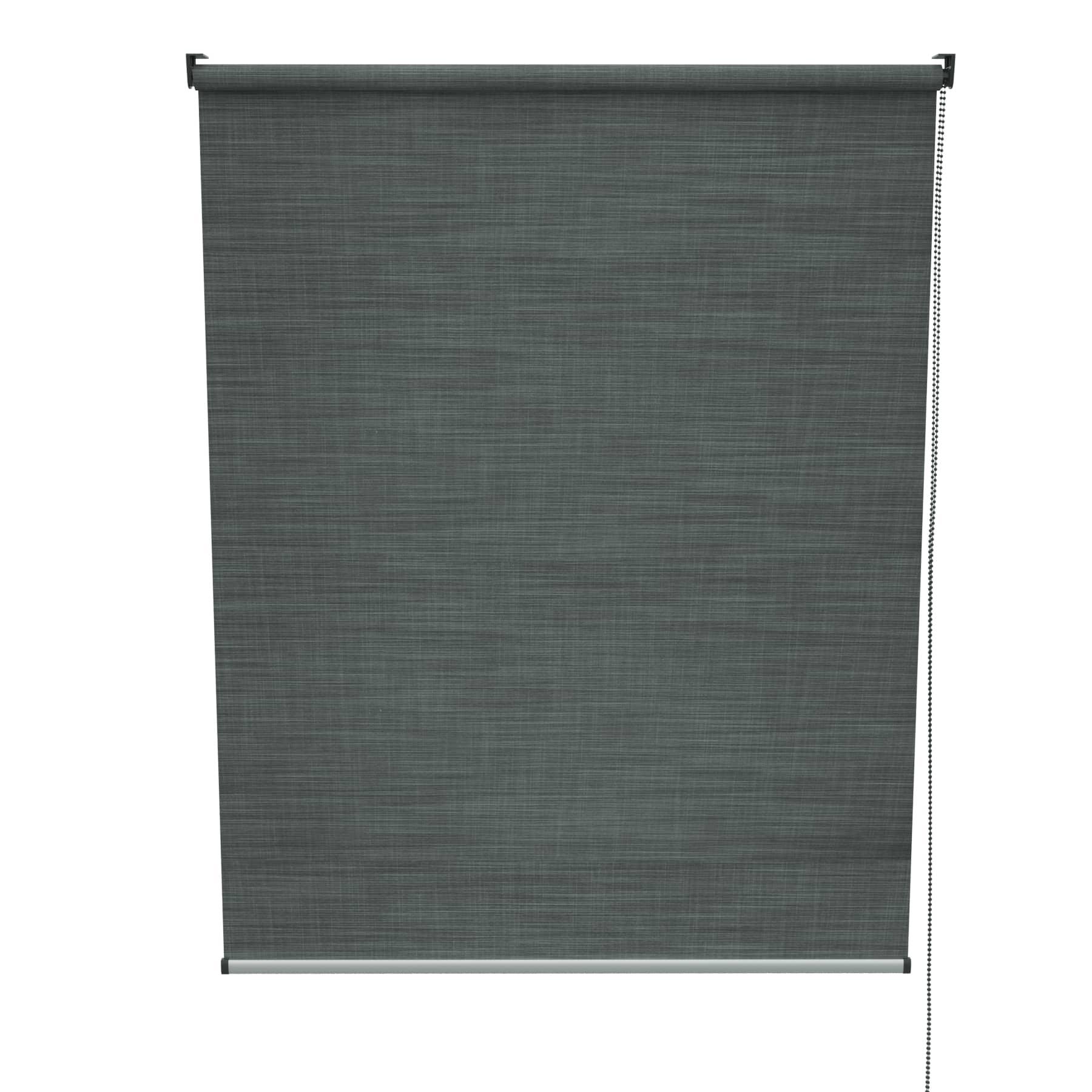 4Goodz Rolgordijn Lichtdoorlatend Aluminium buis 45x180 cm - Antraciet