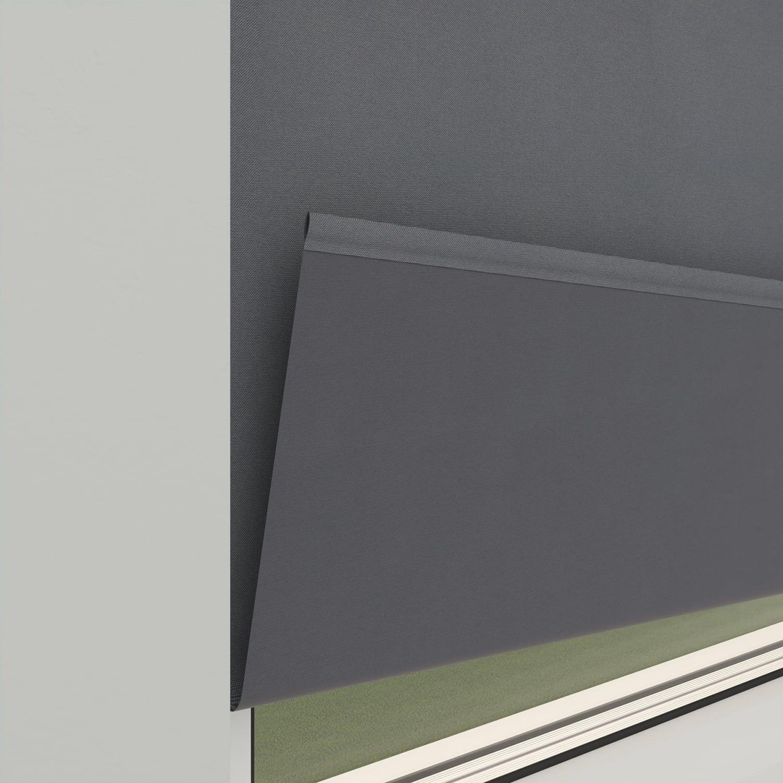 4goodz Rolgordijn Verduisterend Easy 60x250 cm - Grijs
