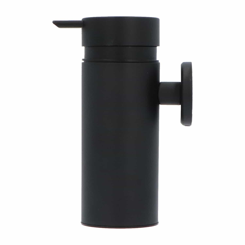 4bathroomz® Oslo zeepdispenser wandmontage - Zeeppompje Zwart