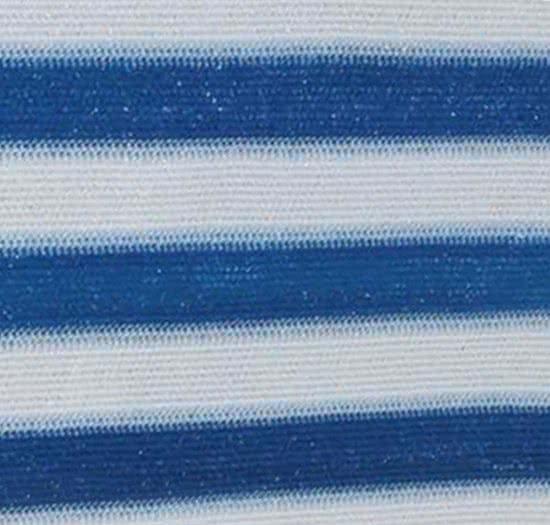 Hanse® Duurzaam Balkonscherm - Kleur Blauw/Wit- Balkondoek - 500x90cm