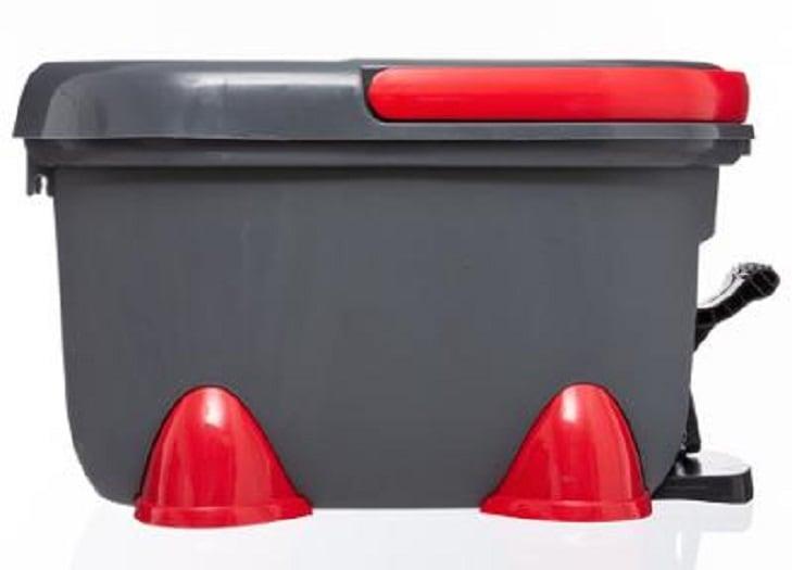 4goodz Turbo Dweilsysteem met lange steel en Ronde Dweil 49x29x28,5cm