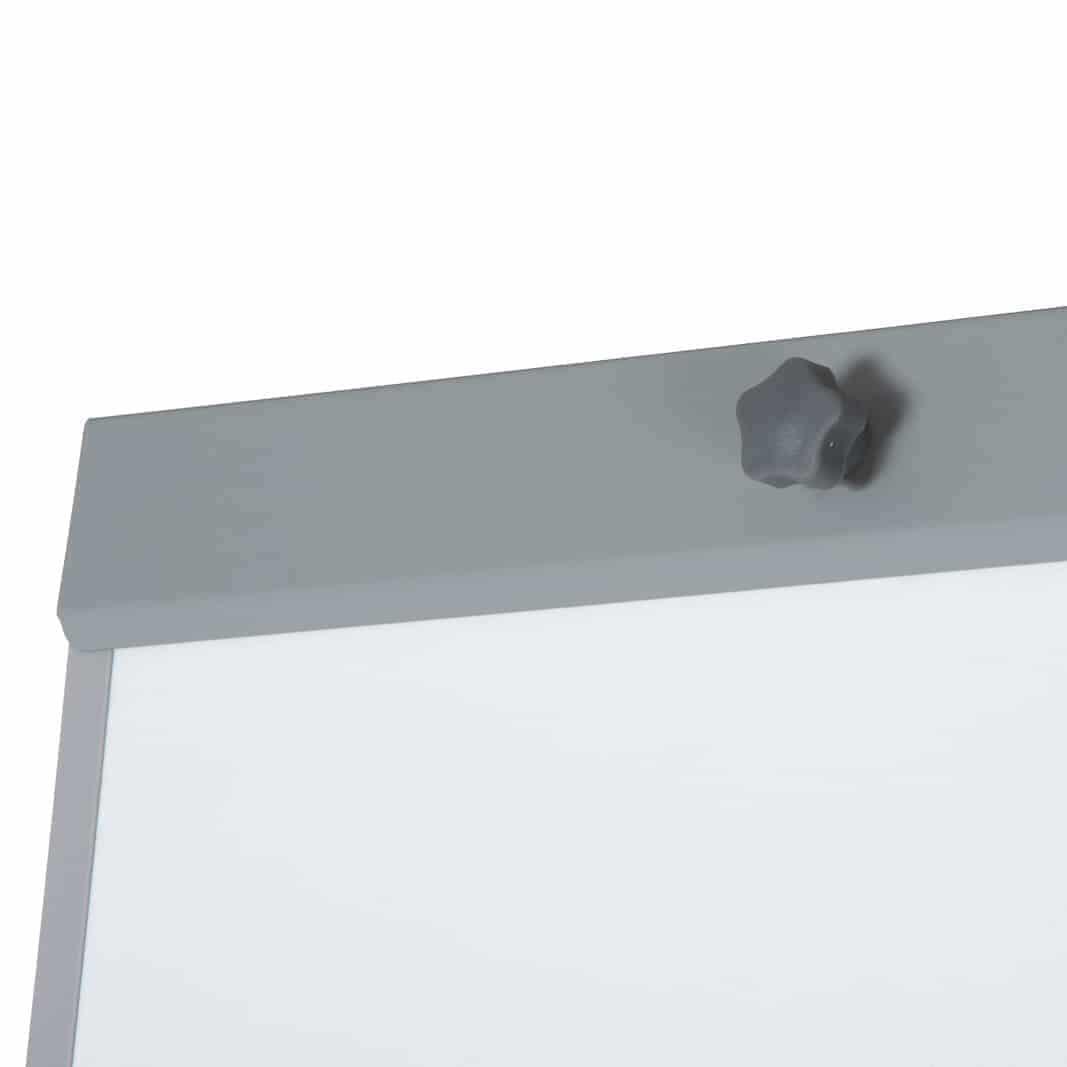 BüroMi Mercurius Verrijdbare Flipover - met papier, marker, magneten