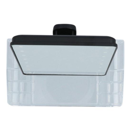 4goodz make-up spiegel met LED en opbergbakjes 28x16x38cm