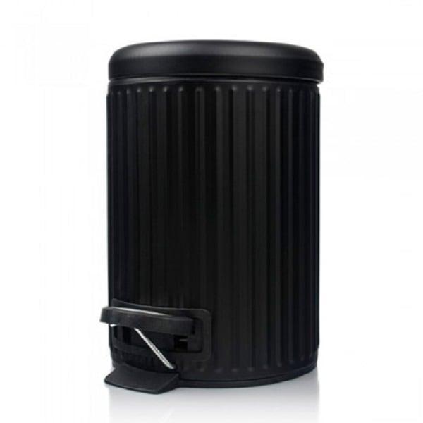 4goodz Pedaalemmer Classic 3 liter prullenbak - Zwart