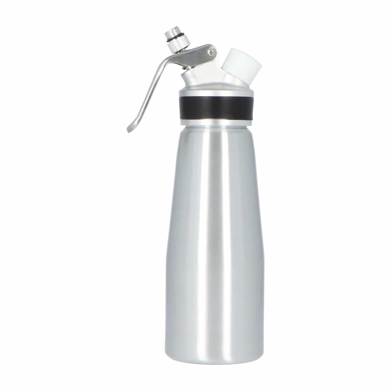 4cookz® aluminium slagroomspuit 0,5 liter - kidde/sifon - espuma