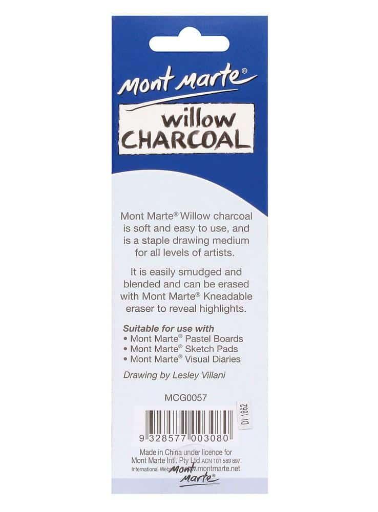 Mont Marte® 12 delige wilg houtskool set S/M/L