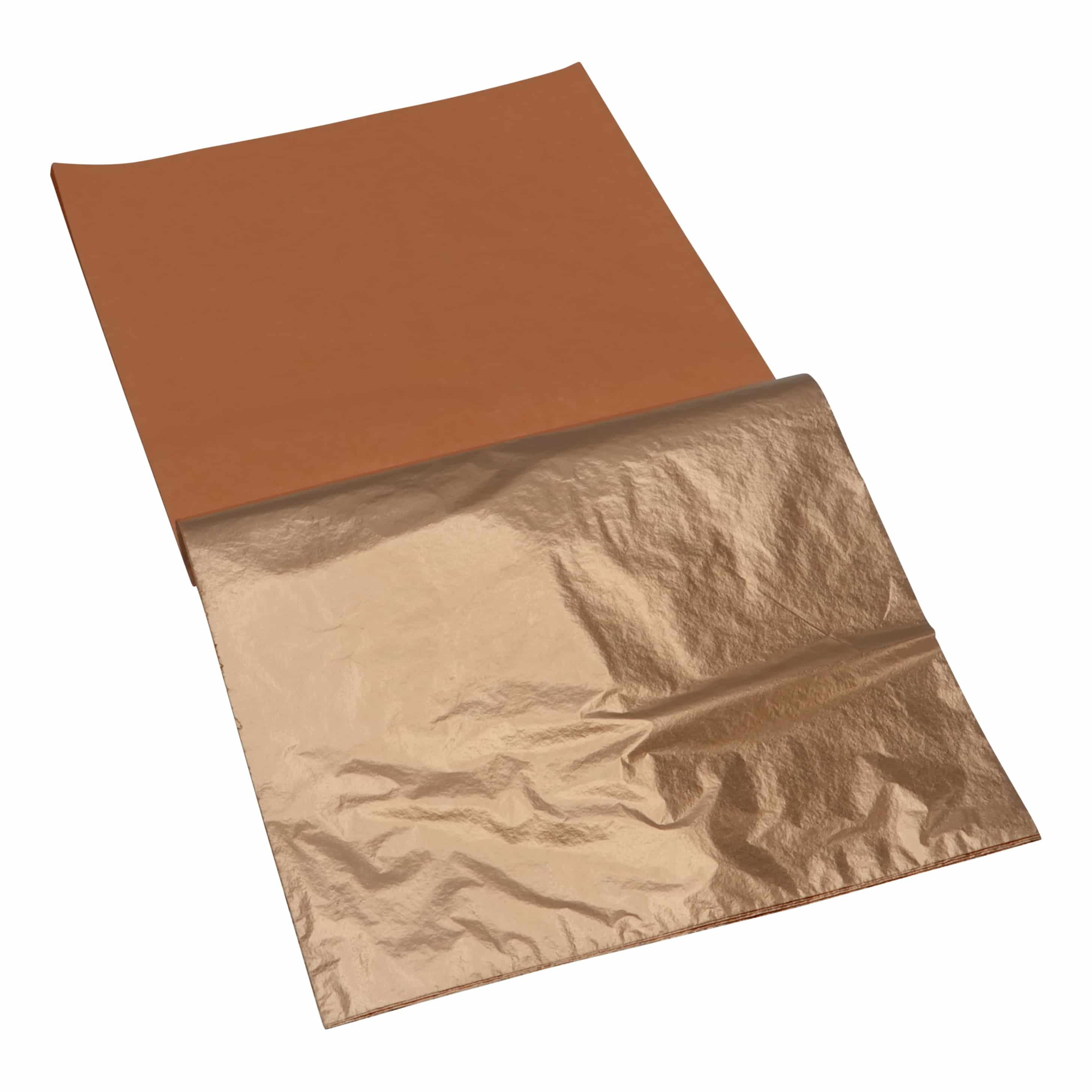 Mont Marte® 25 vellen imitatie koper papier 14x14cm - decoupage papier