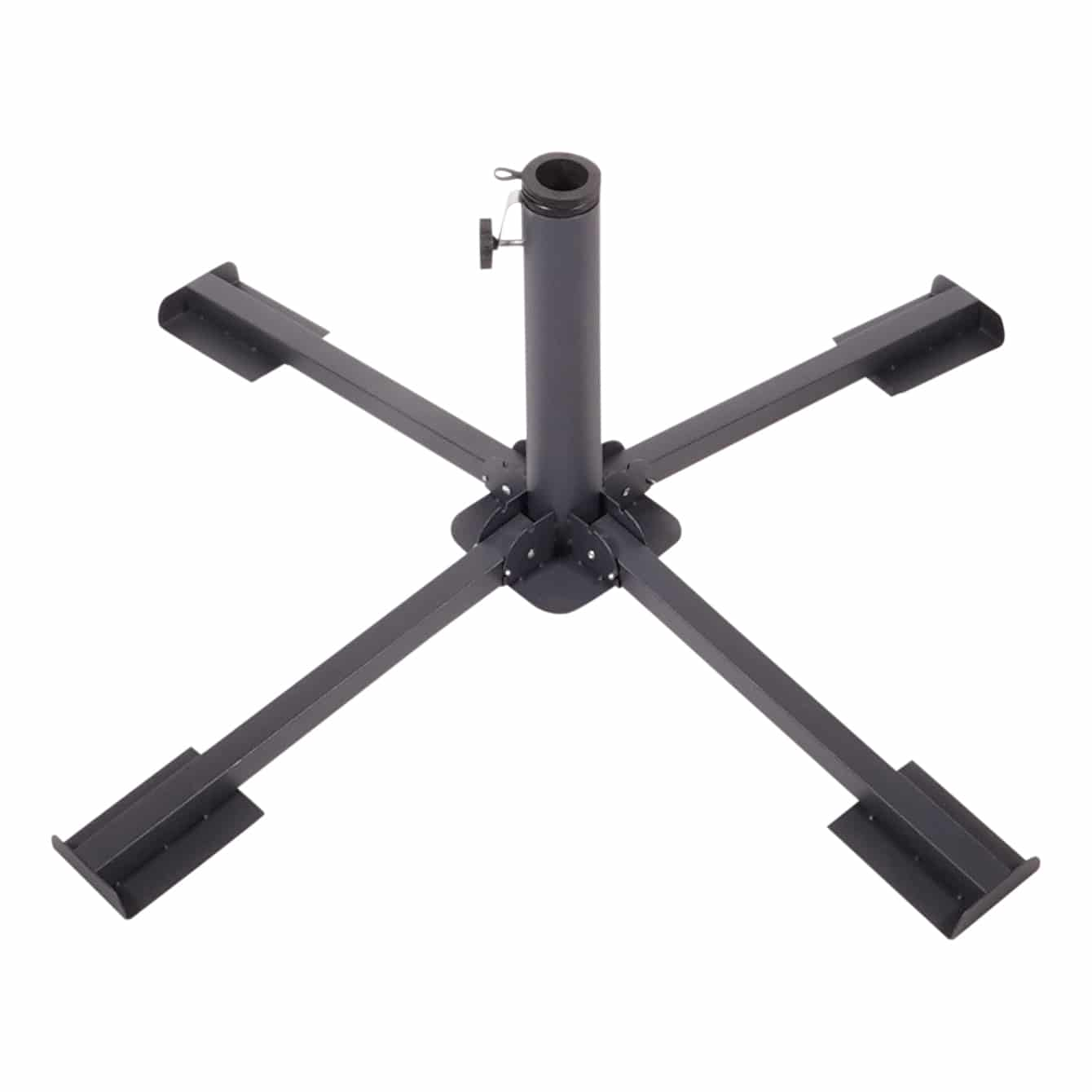 4goodz Opvouwbare Parasol kruisvoet, geschikt voor tegels 40 cm