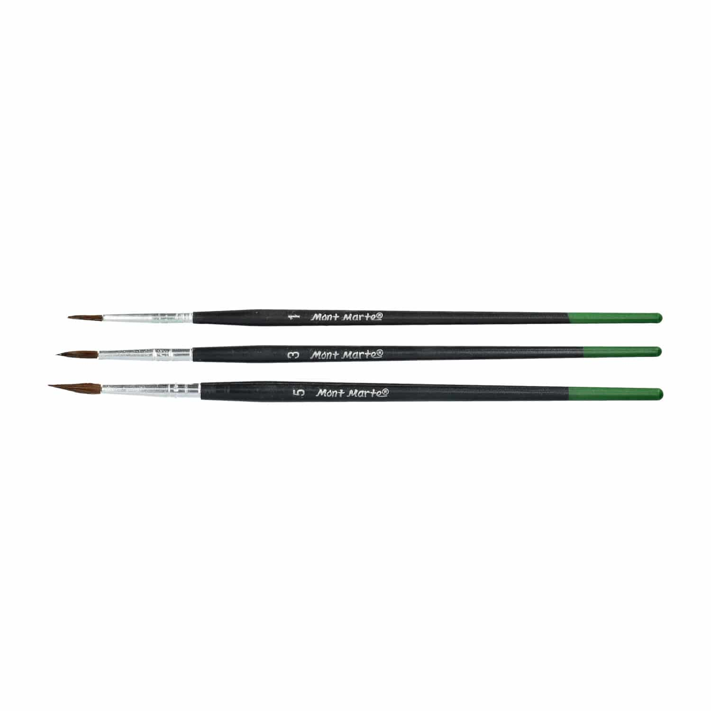 Mont Marte® Essentials kinder introductieset - 15 delige penselen set