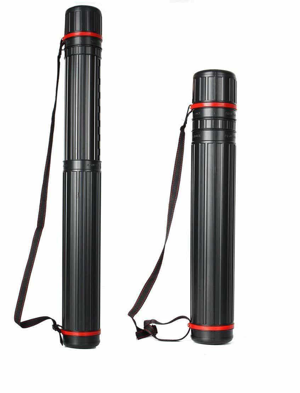 Mont Marte® verstelbare tekenkoker 63 - 100cm - opbergkoker - zwart