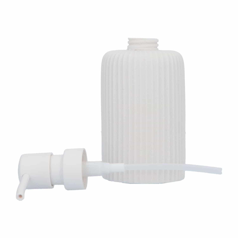 4Goodz Wit Zeeppompje van polystone gefreesd 7x16,5 cm - Wit