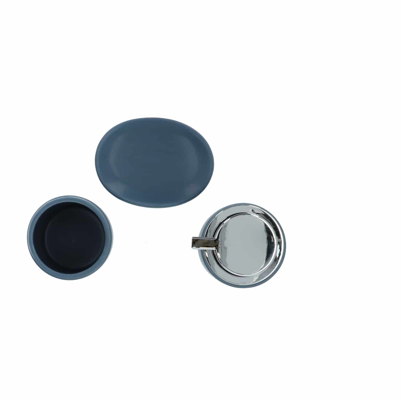 4Goodz keramische badkameraccessoire set Chunky - Blauw