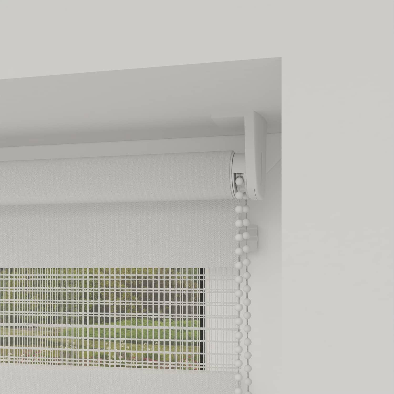 4Goodz Duo Rolgordijn Easy Lichtdoorlatend 60x180 cm - Wit
