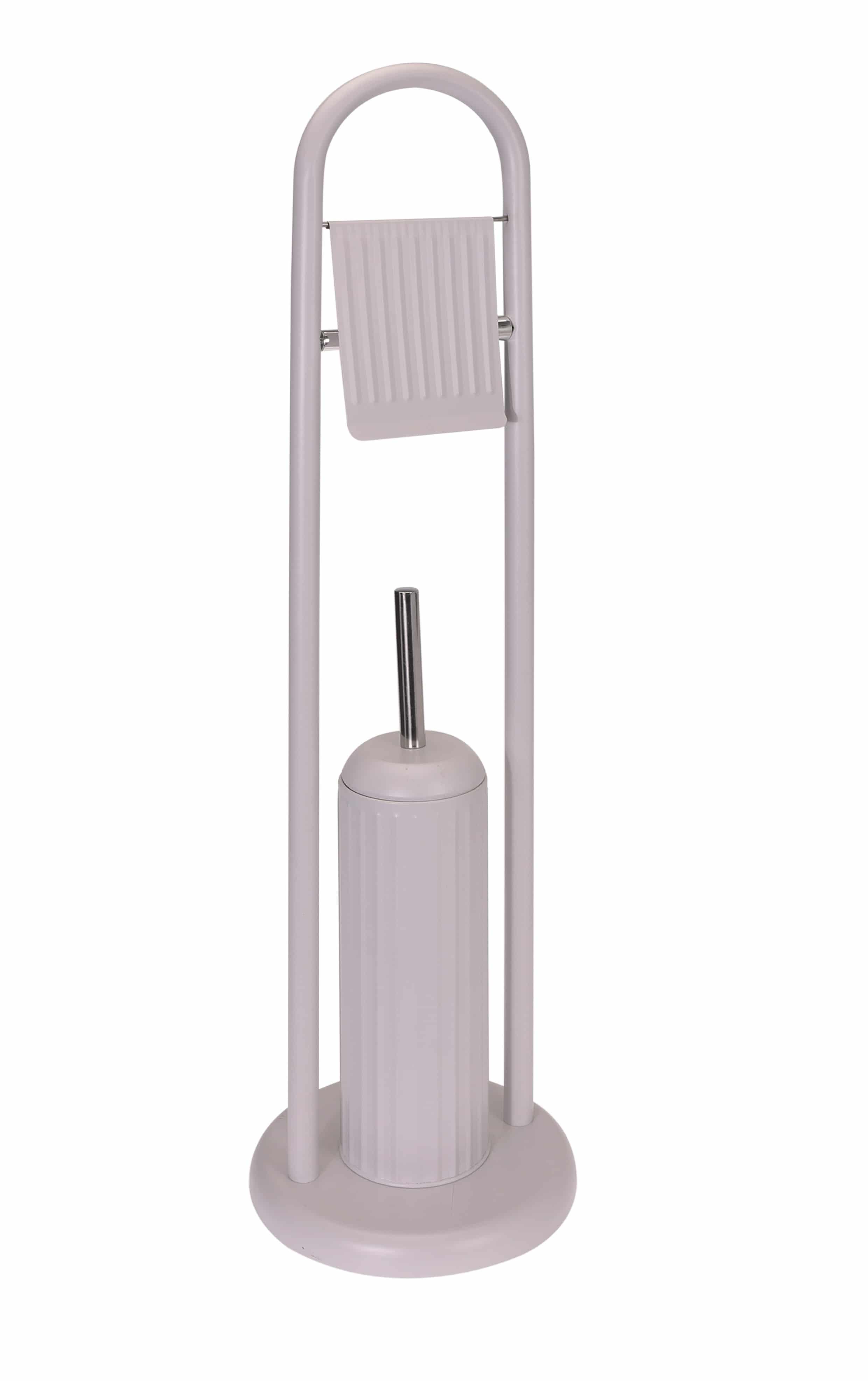 4goodz vrijstaand toiletgarnituur - 79 cm hoog - Taupe