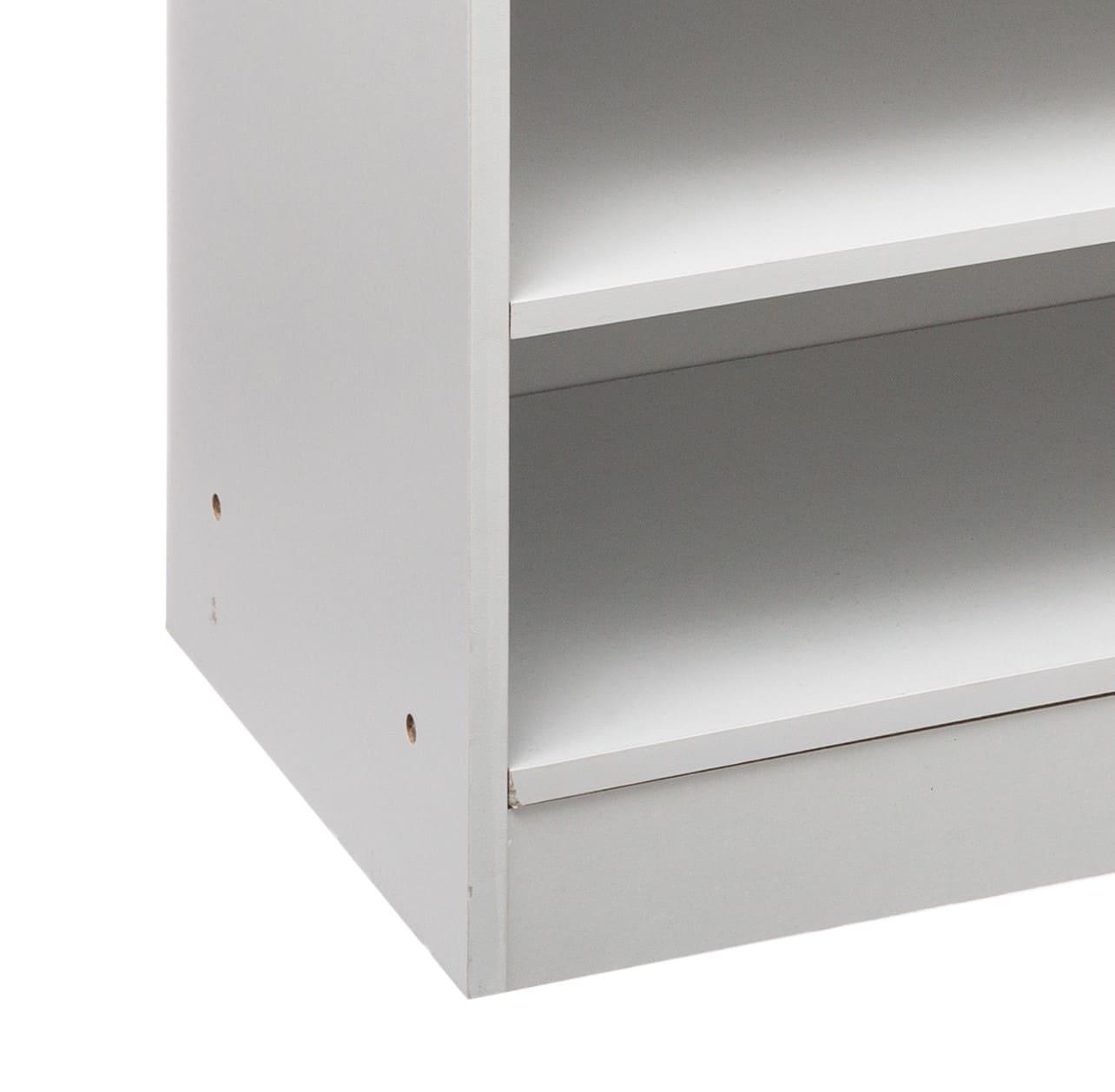 4goodz Schoenenkast 4-laags voor 12-15 paar - 30x67,5x68 cm - Wit
