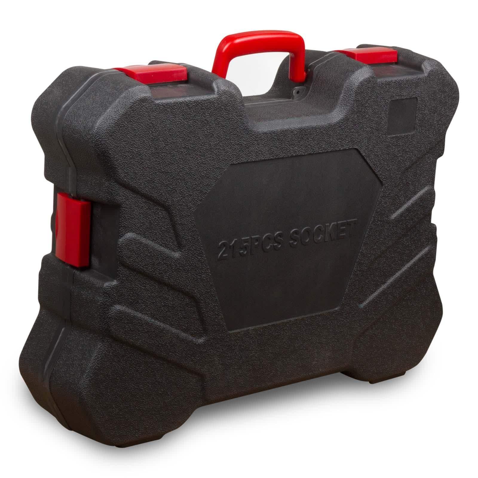 Hanse Werkzeuge® 215 delige doppenset/steeksleutelset/ratelset XL