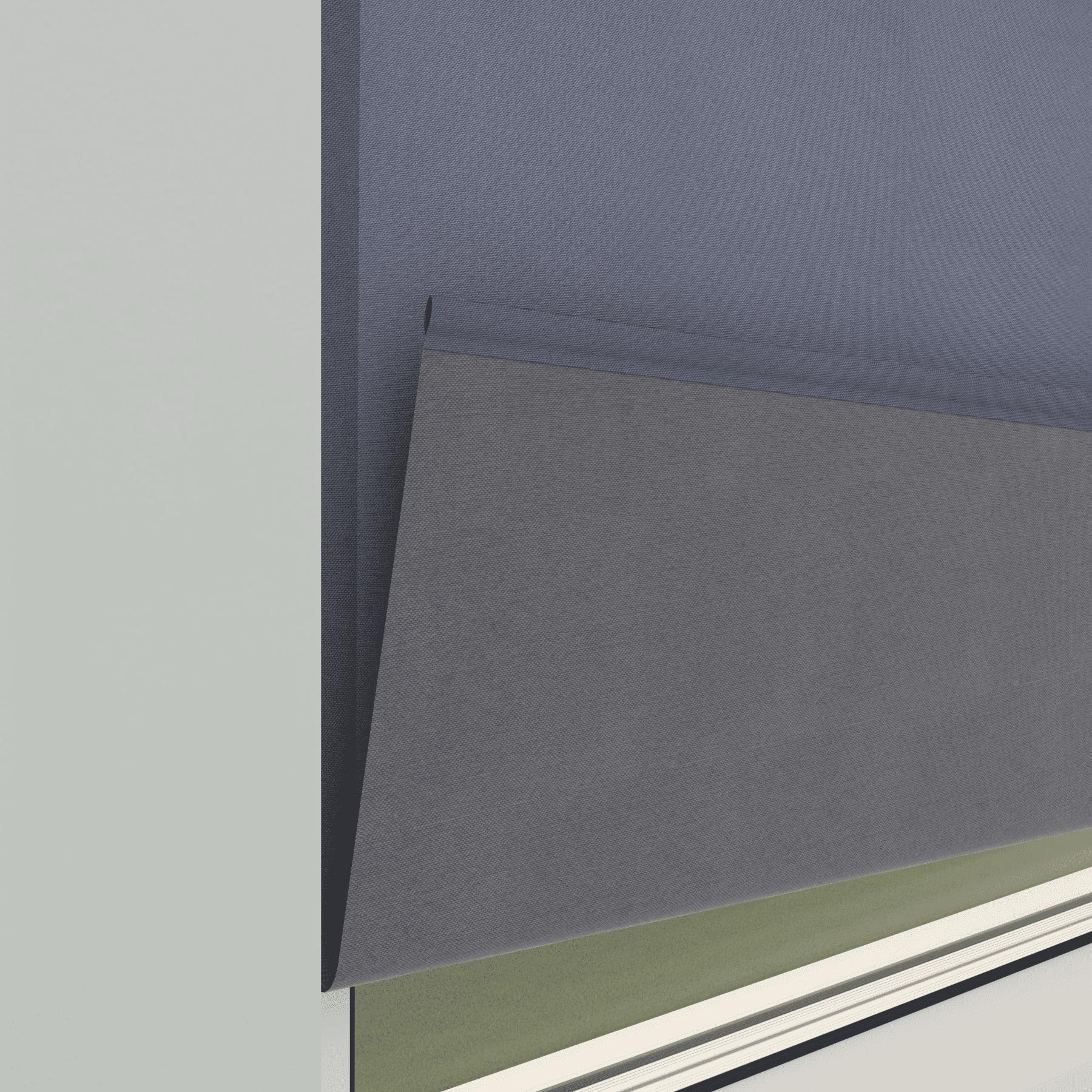 4Goodz Rolgordijn Lichtdoorlatend Easy 120x180 cm - Grijs