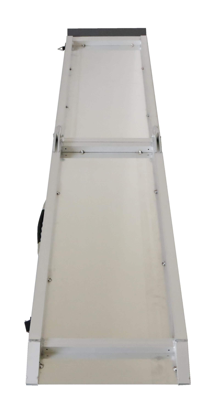 4animalz SUV hondenloopplank opvouwbaar XL - aluminum - 244x38x5 cm