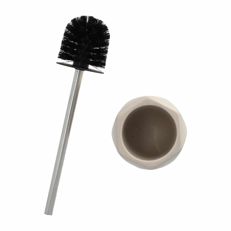 4goodz Diamond keramische toiletborstel - Taupe