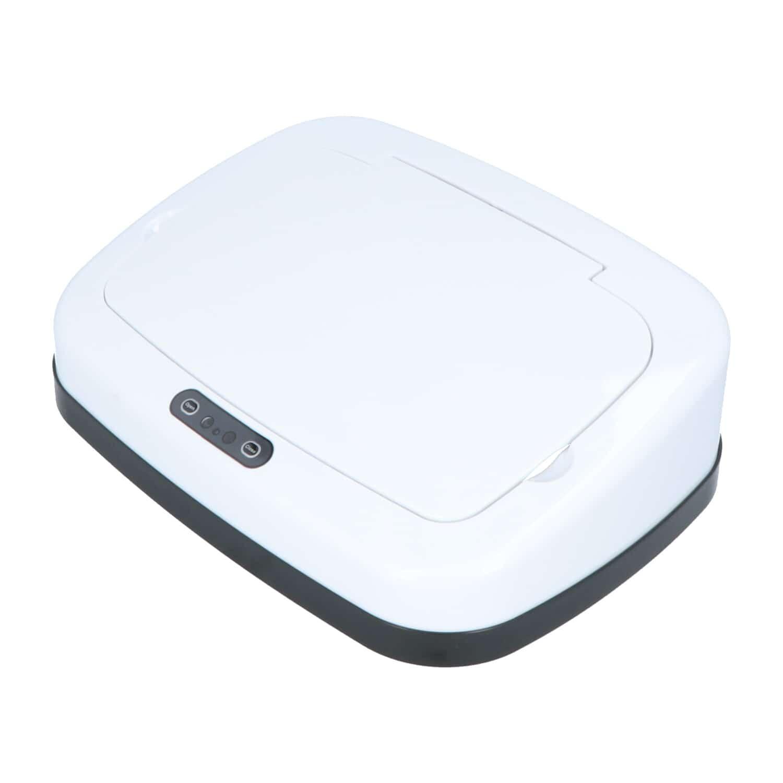 4cookz vervangingsdeksel Clever White 30 liter - wit