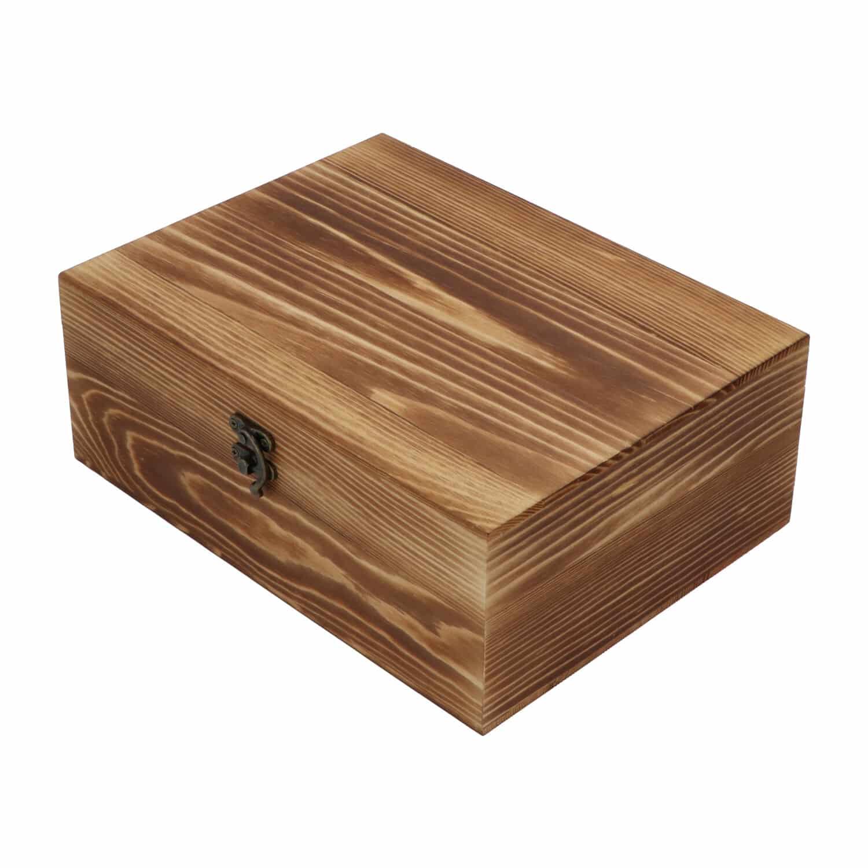 4cookz® Whiskey geschenkset - 2 glazen en whiskey stenen - houten kist