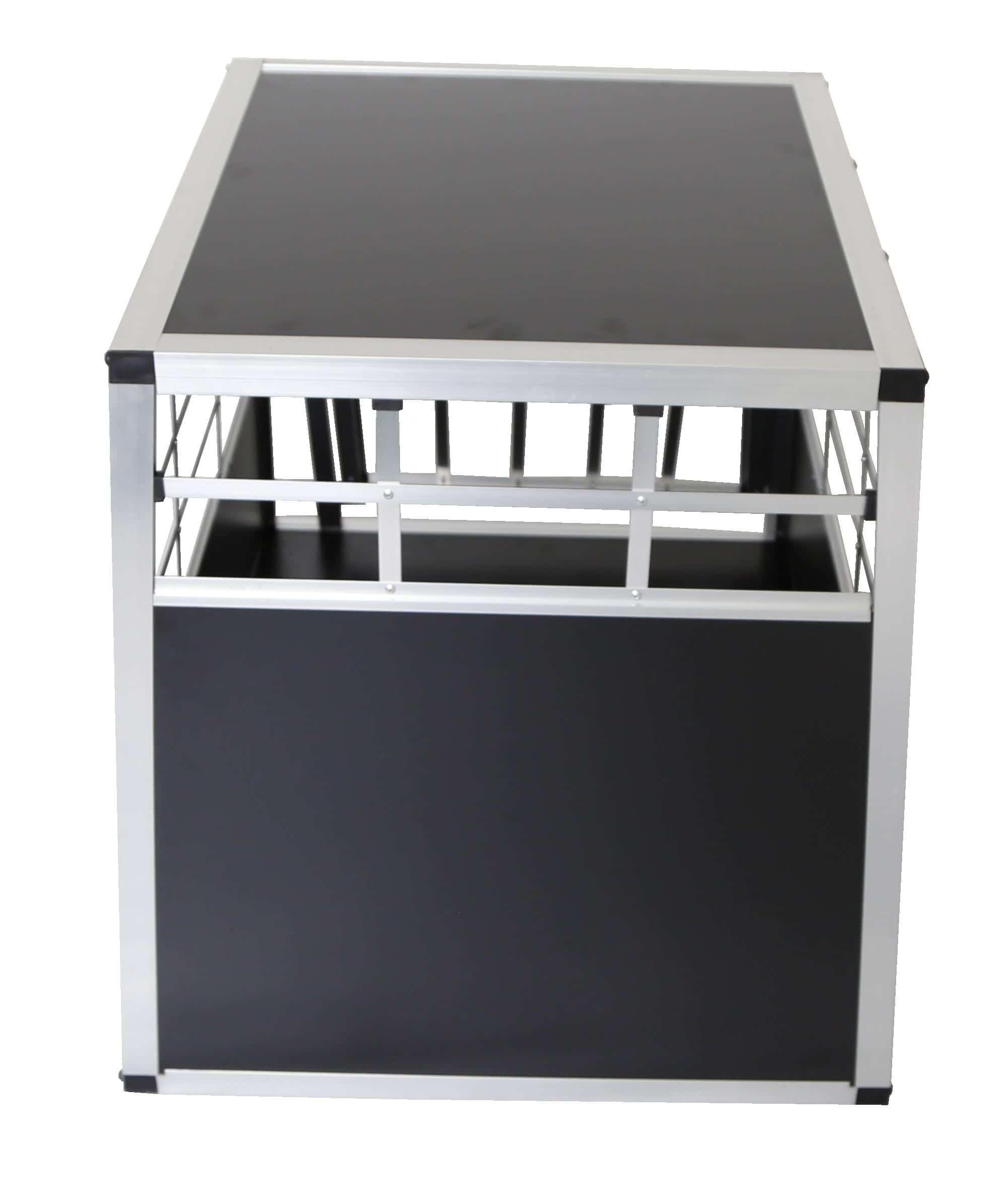 4animalz Hoge aluminium hondenbench - 65 (B)x90(D)x69(H) cm